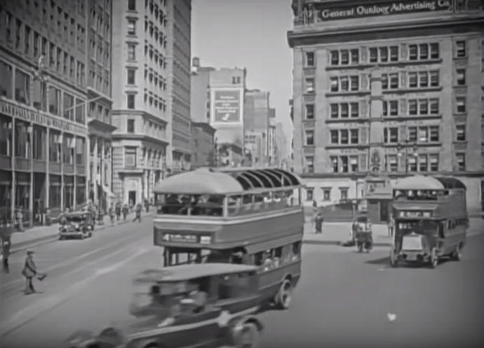 1920年代のニューヨーク