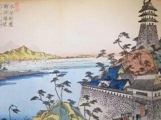 犬山城から対岸を見る
