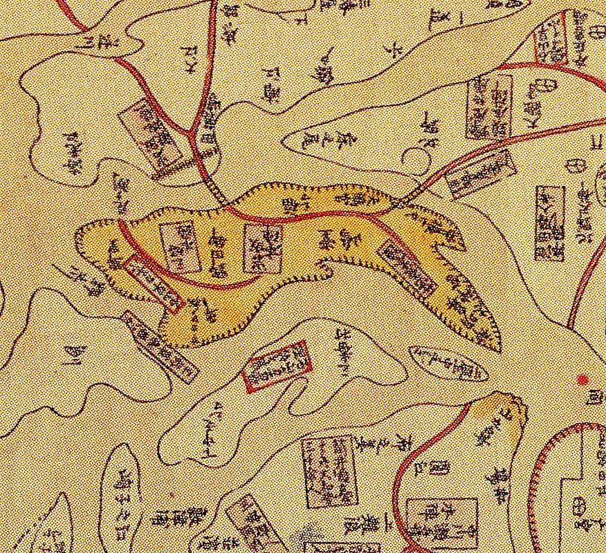 野田・福島周辺の古地図①