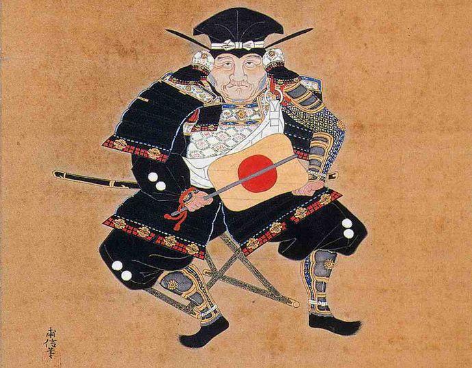 池田恒興肖像画
