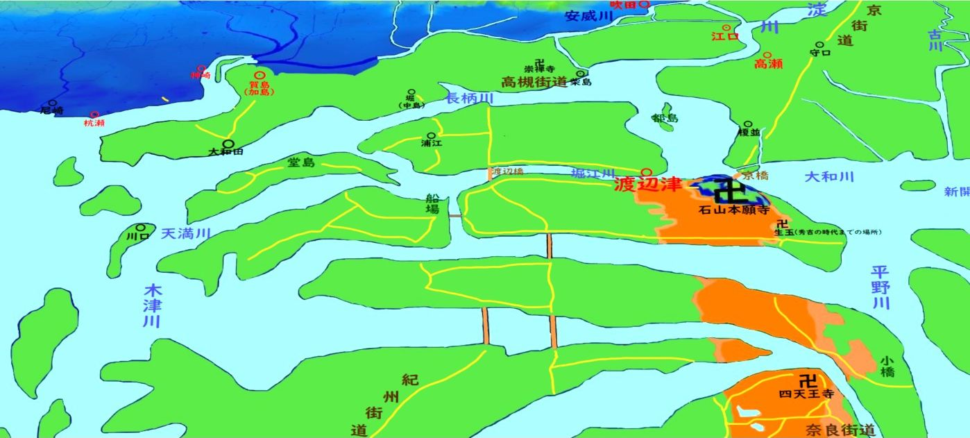 大坂古地図3D