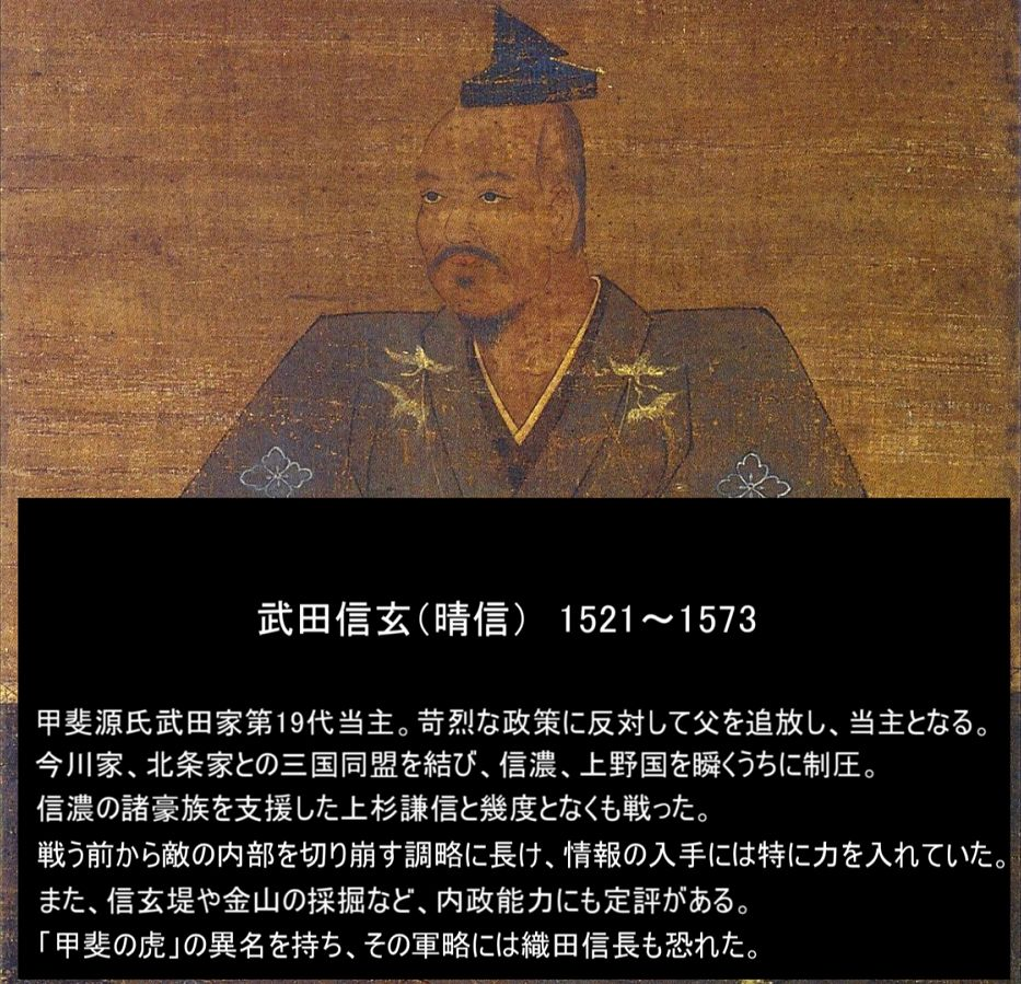 武田信玄列伝