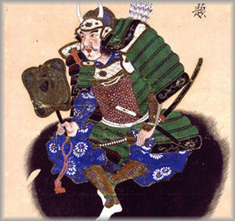 森長可肖像(可成寺所蔵)