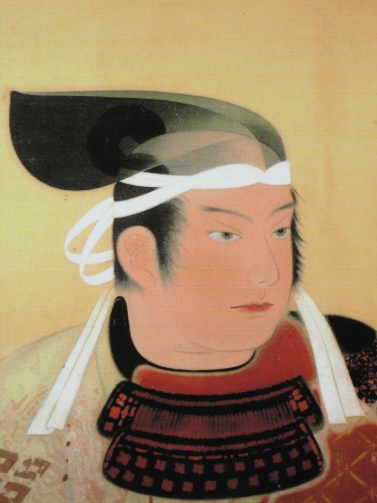 山中幸盛肖像(安来市立歴史資料館所蔵)