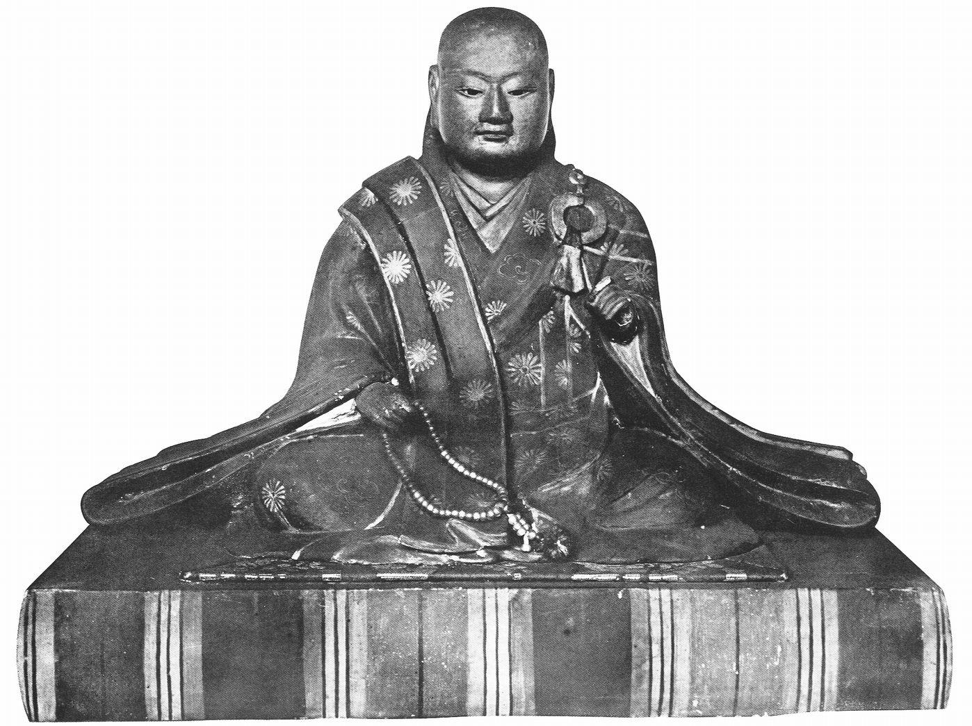 後奈良天皇木像(浄福寺蔵)